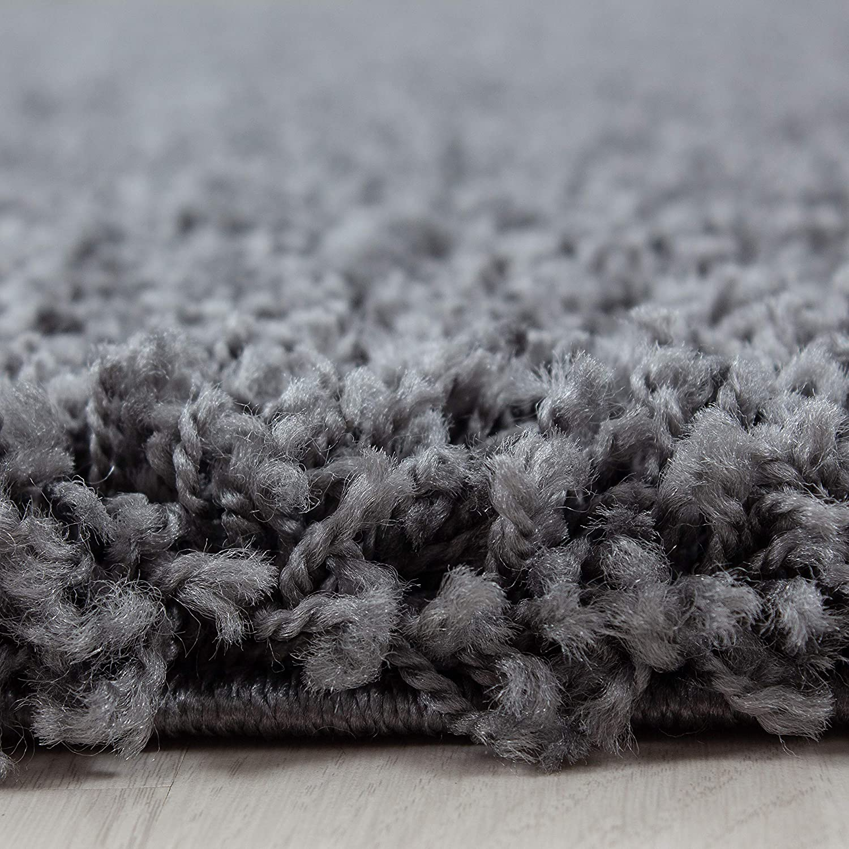 Hochflor Shaggy Shaggy Shaggy Teppich für Wohnzimmer Langflor Pflegeleicht Schadsstof geprüft Teppiche einfarbigOeko Tex Standarts , Farbe Braun, Maße 200x290 cm B07HLSS1Y3 Teppiche 1d4615