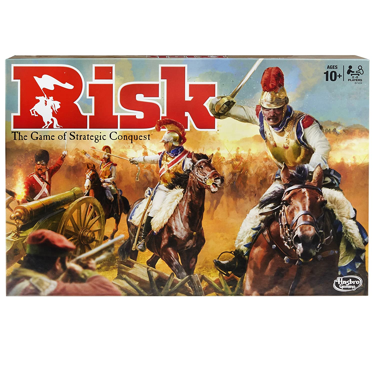 Image of the Risk Board game in a box.