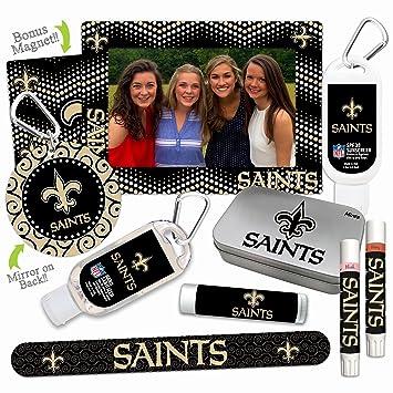 Amazon Com Nfl New Orleans Saints Platinum Variety Set With 2 Lip