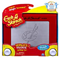 Etch A Sketch, Classic Red Drawing Retro Toy with Magic Screen, for Ages 3 and Up