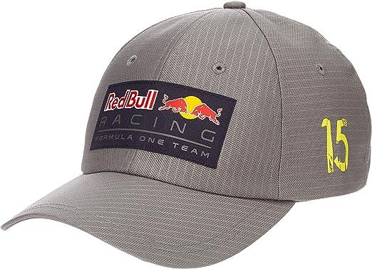 Red Bull Racing Aston Martin Lifestyle Stripe Baseball Cap Grey ...