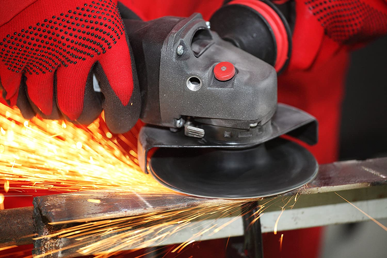 P60 230 mm Zirconia flap discs for angle grinders.