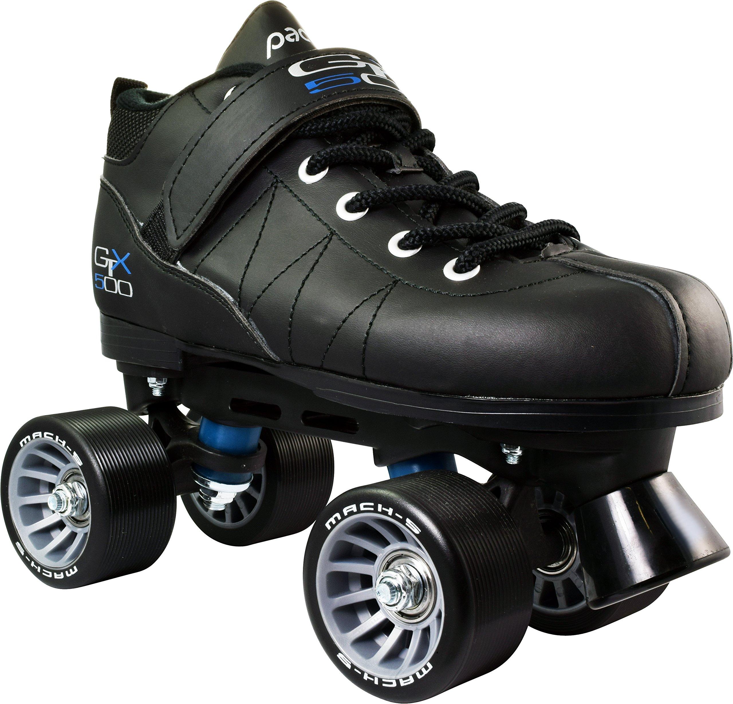 Pacer GTX-500 Roller Skates - Black