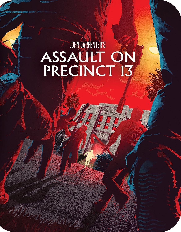 Assault on Precinct 13 (Steelbook) [Blu-ray] Austin Stoker Darwin Joston Laurie Zimmer John Carpenter