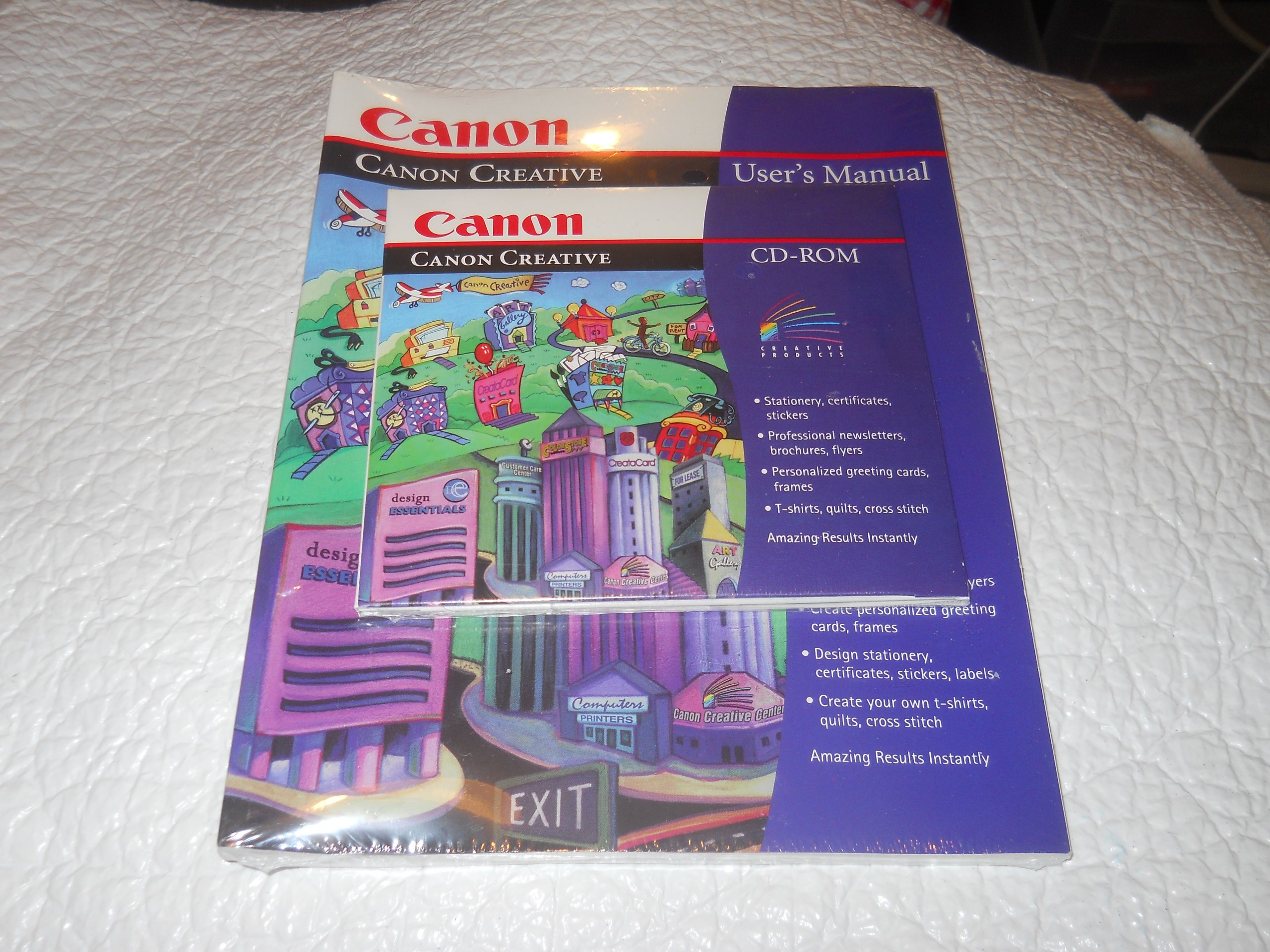canon creative version 2 0 cd rom creative print factory
