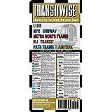 Streetwise Transitwise New York New Jersey Transit Map - LIRR, NYC Subway, Metro North trains, amtrak: Folding Pocket Size Travel Map (Streetwise (Streetwise Maps))