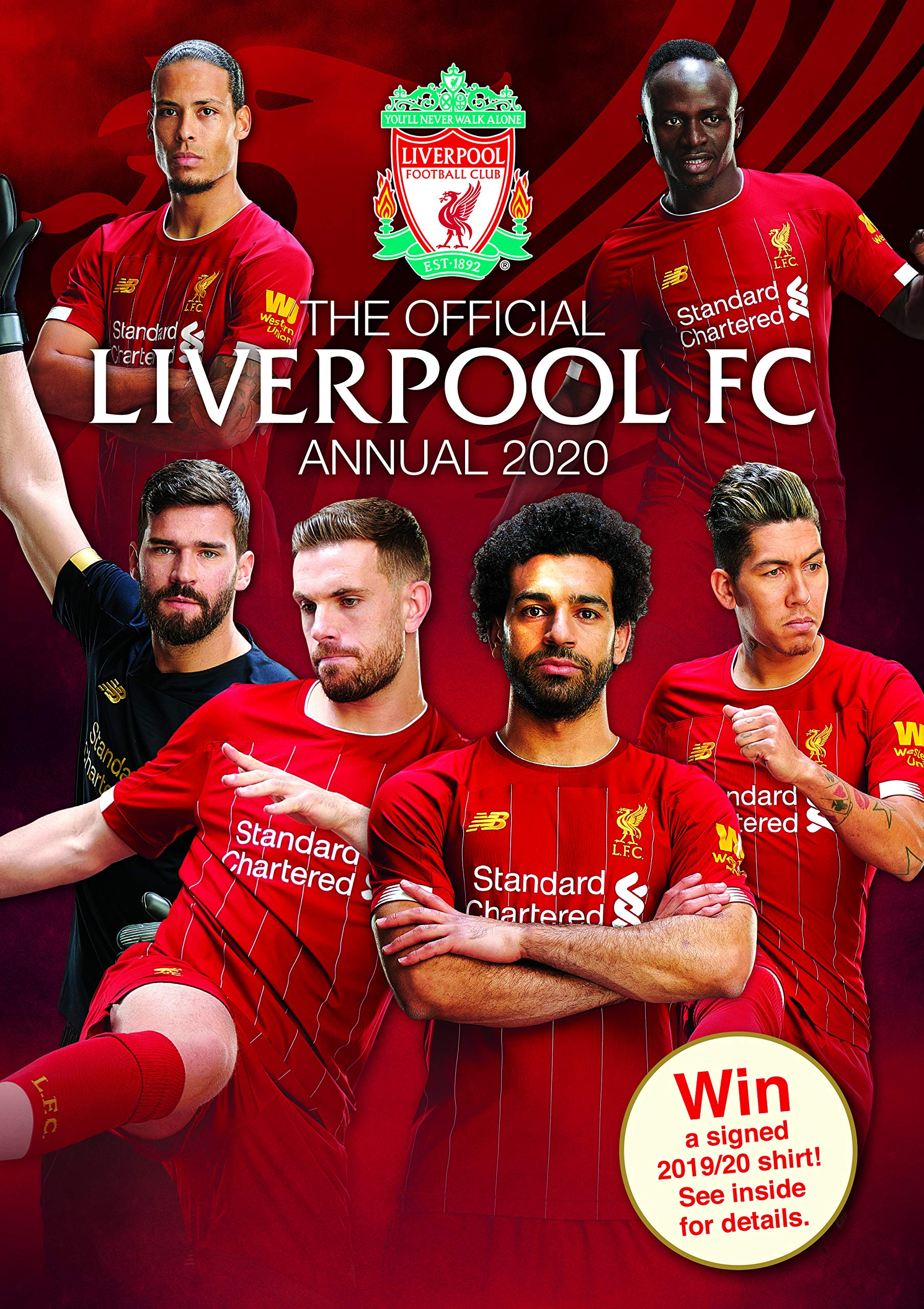 The Official Liverpool Fc Annual 2020 Fc Liverpool 9781913034238 Amazon Com Books