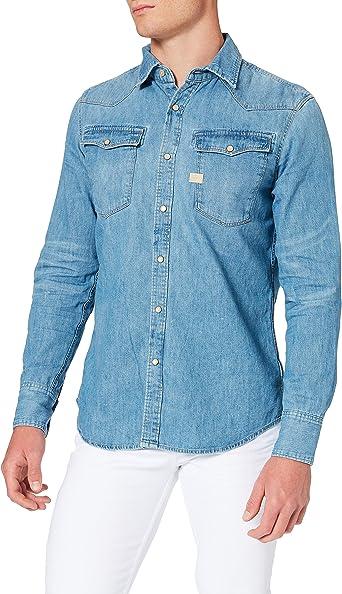 G-Star Raw 3301 - Camisa casual para hombre