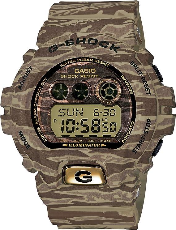 [カシオ] 腕時計 ジーショック Camouflage Series GD-X6900TC-5JF ブラウン