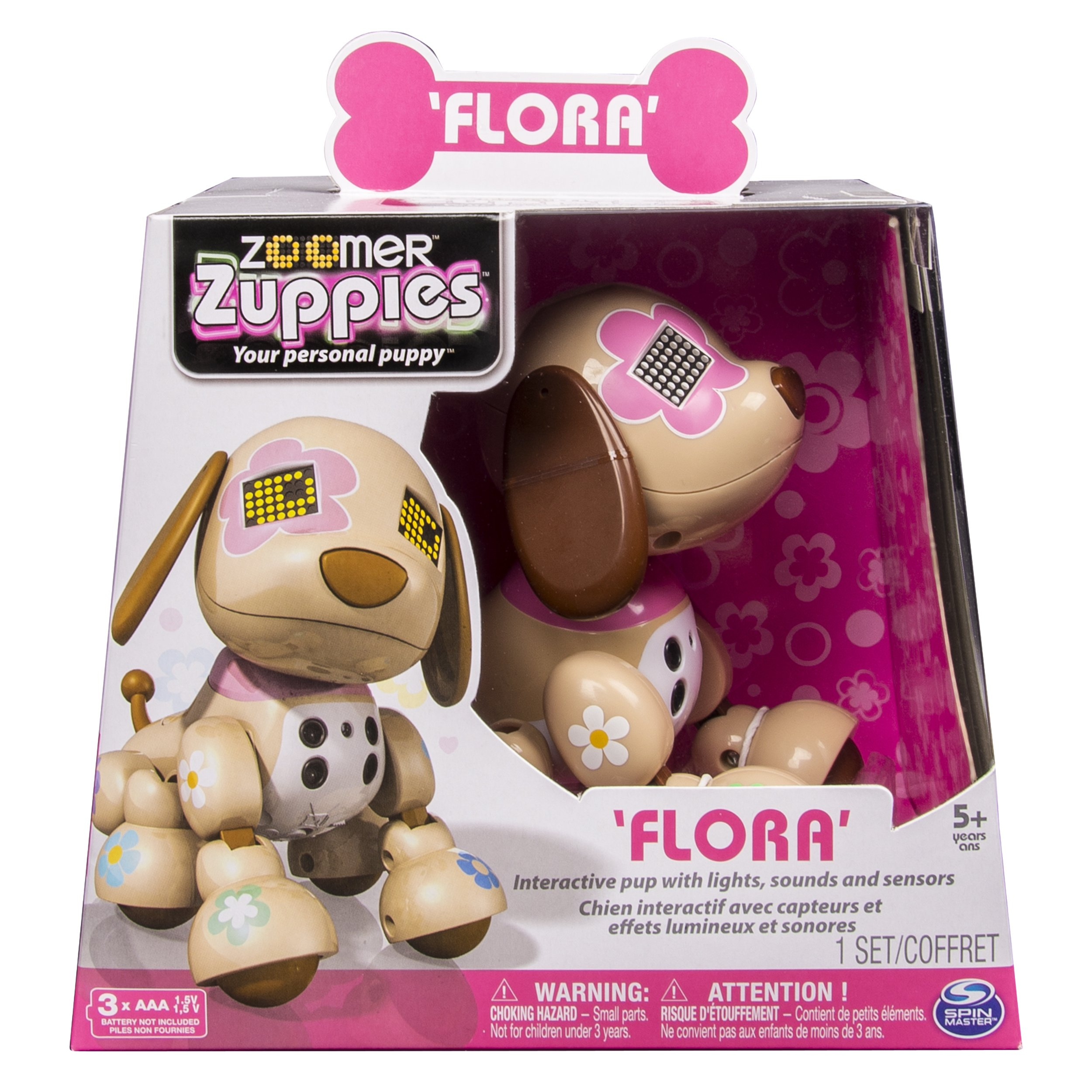 Zoomer Zuppies Interactive Puppy, Flora by Zoomer (Image #3)