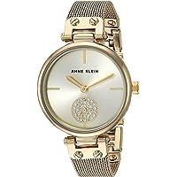 Anne Klein 女士施华洛世奇水晶点缀手链手表