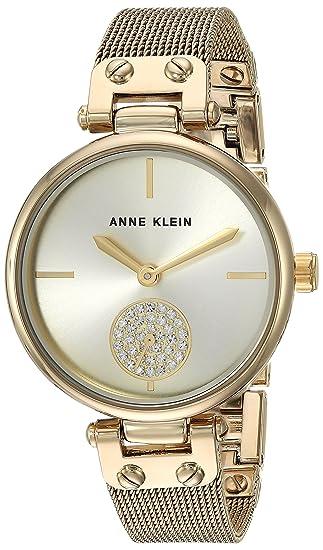 Klein Swarovski Watch Mesh Women's Anne Bracelet Crystal Accented TJ15lKc3uF