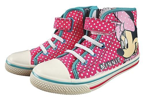 017d4f0ce Anther Zapatillas Botitas Estar por casa Infantiles Minnie Disney Color  Rosa con Velcro: Amazon.es: Zapatos y complementos