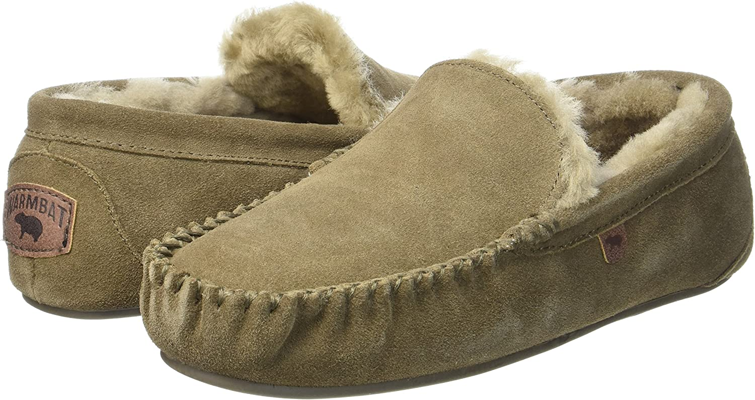 Warmbat Australia Men Slippers Malmo-Suede