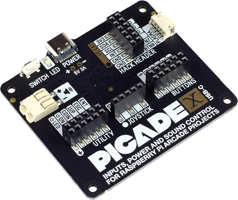 Picade X Hat USB-C: ¡Convierte tu Raspberry Pi en una Consola de Juegos Retro!