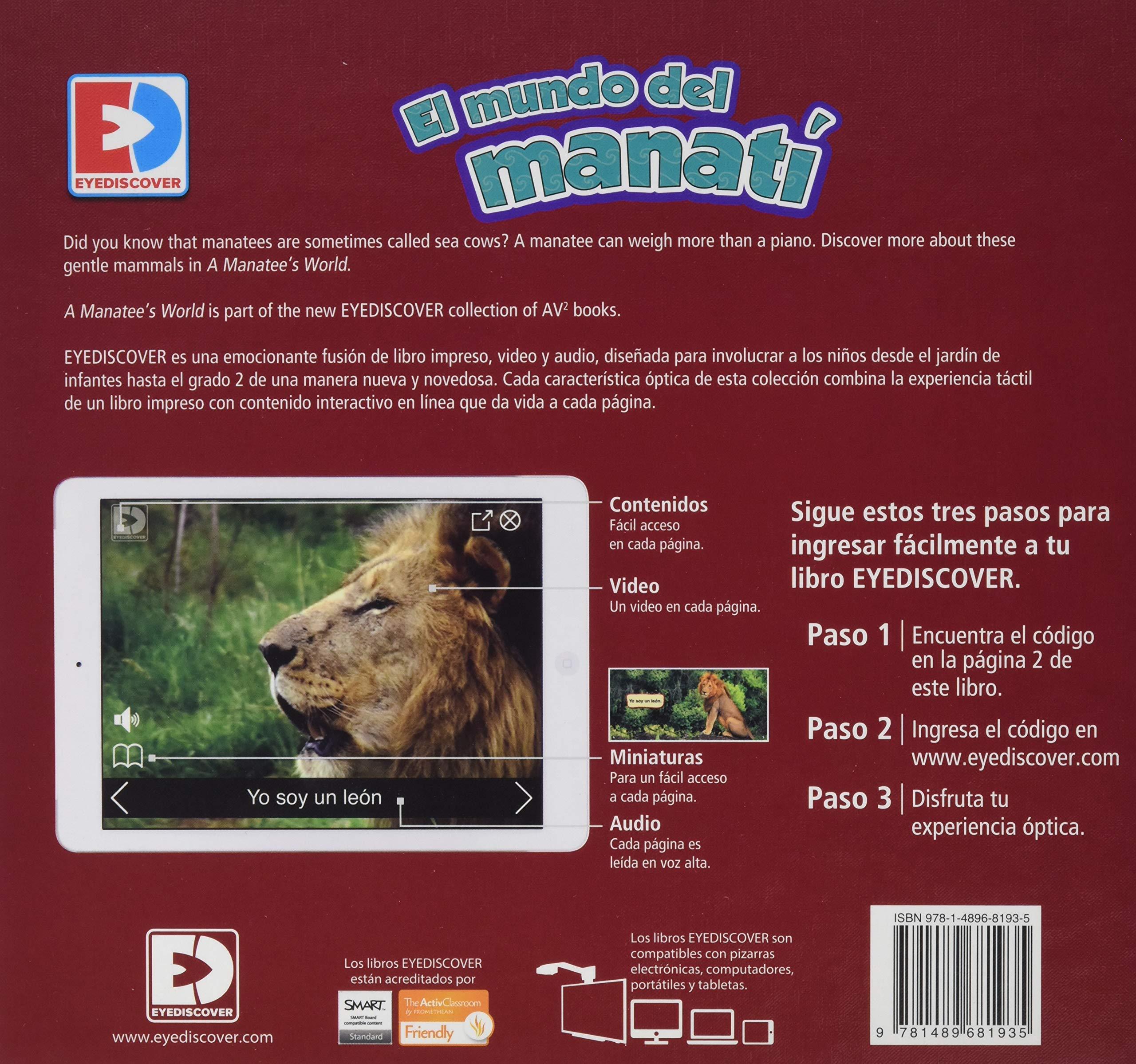 El Mundo del Manati (EyeDiscover): Amazon.es: Samantha ...