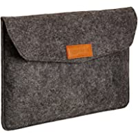 "AmazonBasics Funda para portátil de 11"", fieltro, color carbón"