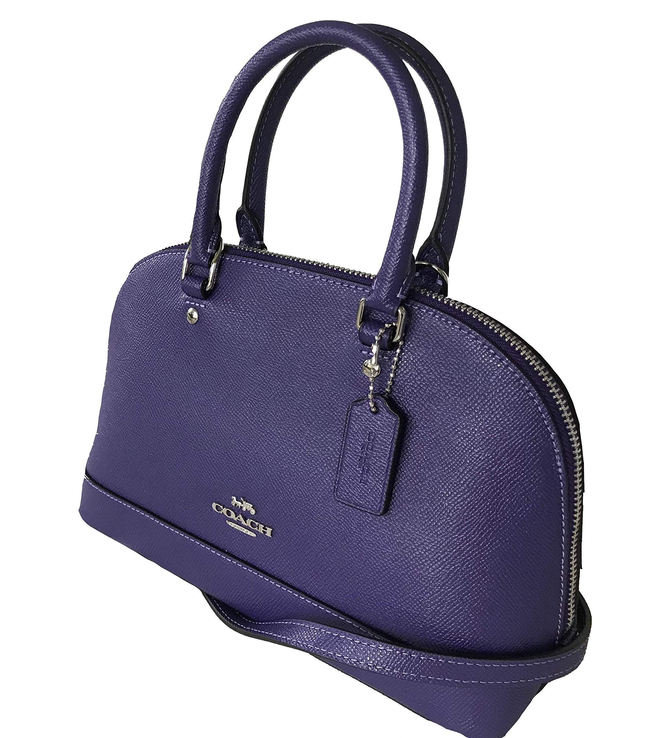 7b4e6cb83fc4 Coach Women s Shoulder Inclined Shoulder Handbag Mini Sierra Satchel Purse