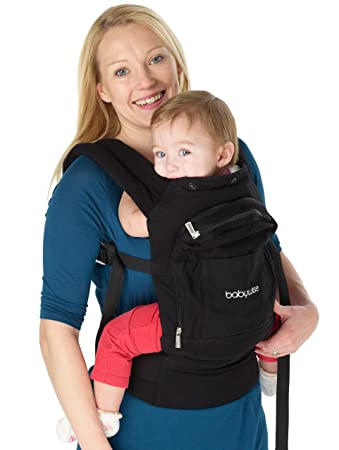 6e9edbcf30b Amazon.com   Ergonomic Baby Carrier - Front and Back Carry Positions -  Carry Your Baby Safely - Safety Tested And Certified Design   Baby