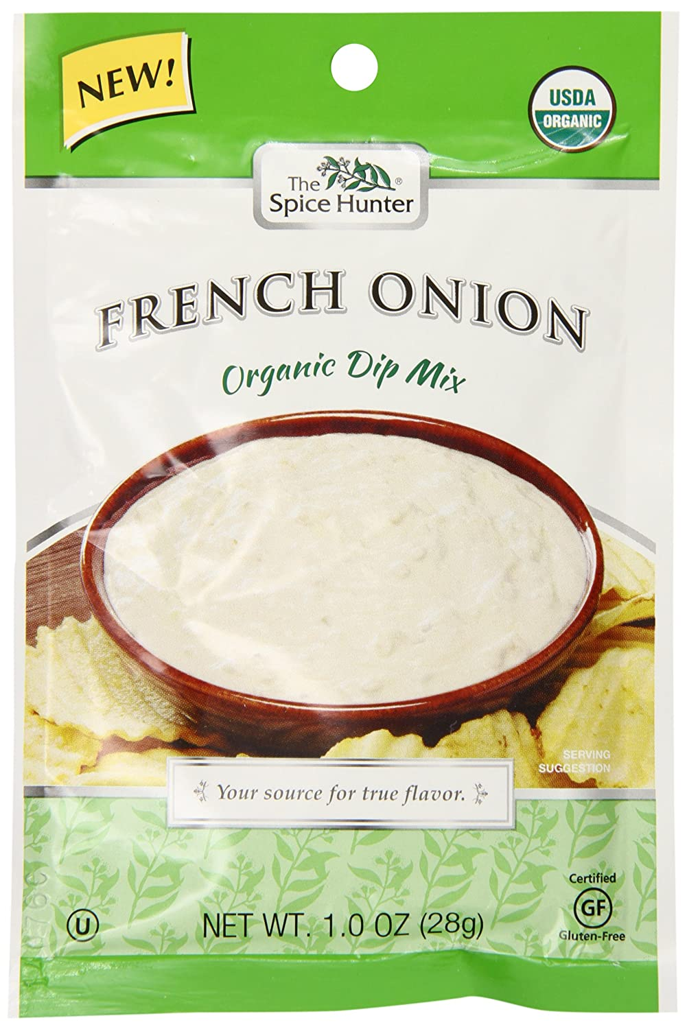 Amazon.com: Spice Hunter Organic French Onion Dip Mix, 1 Ounce (Pack of 12)