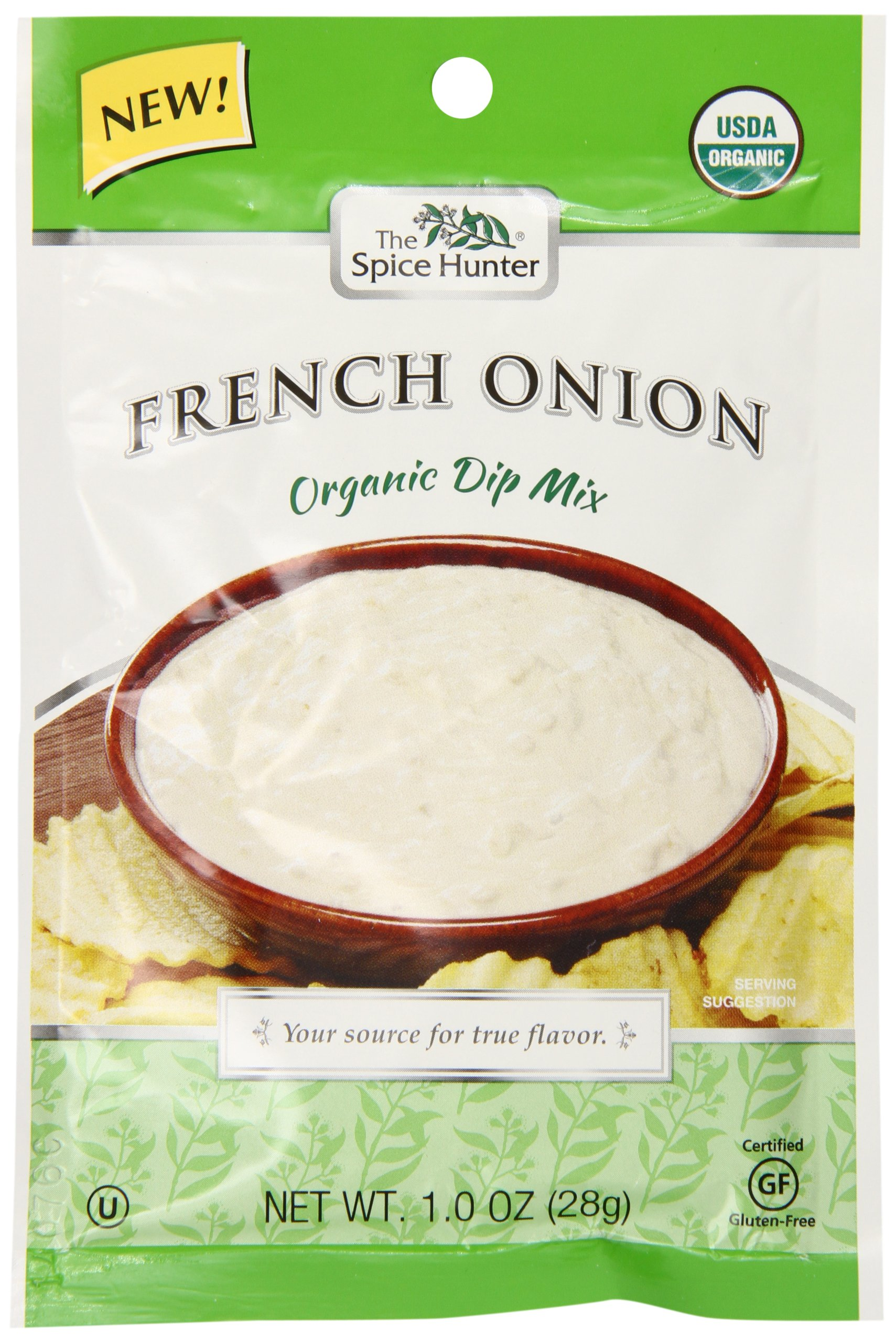 Spice Hunter Organic French Onion Dip Mix, 1 Ounce (Pack of 12)