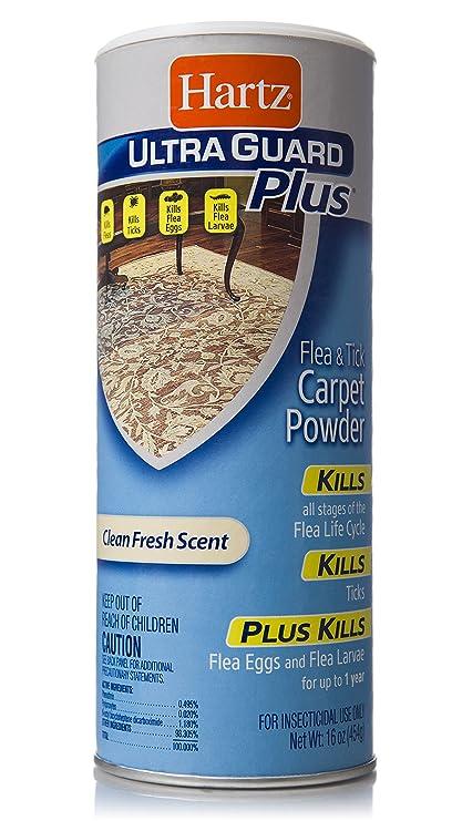 Image Unavailable. Image not available for. Color: Hartz UltraGuard Plus Flea & Tick Carpet Powder ...