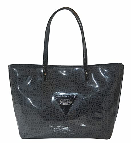 GUESS Signature Patent Liberate Tote Bag