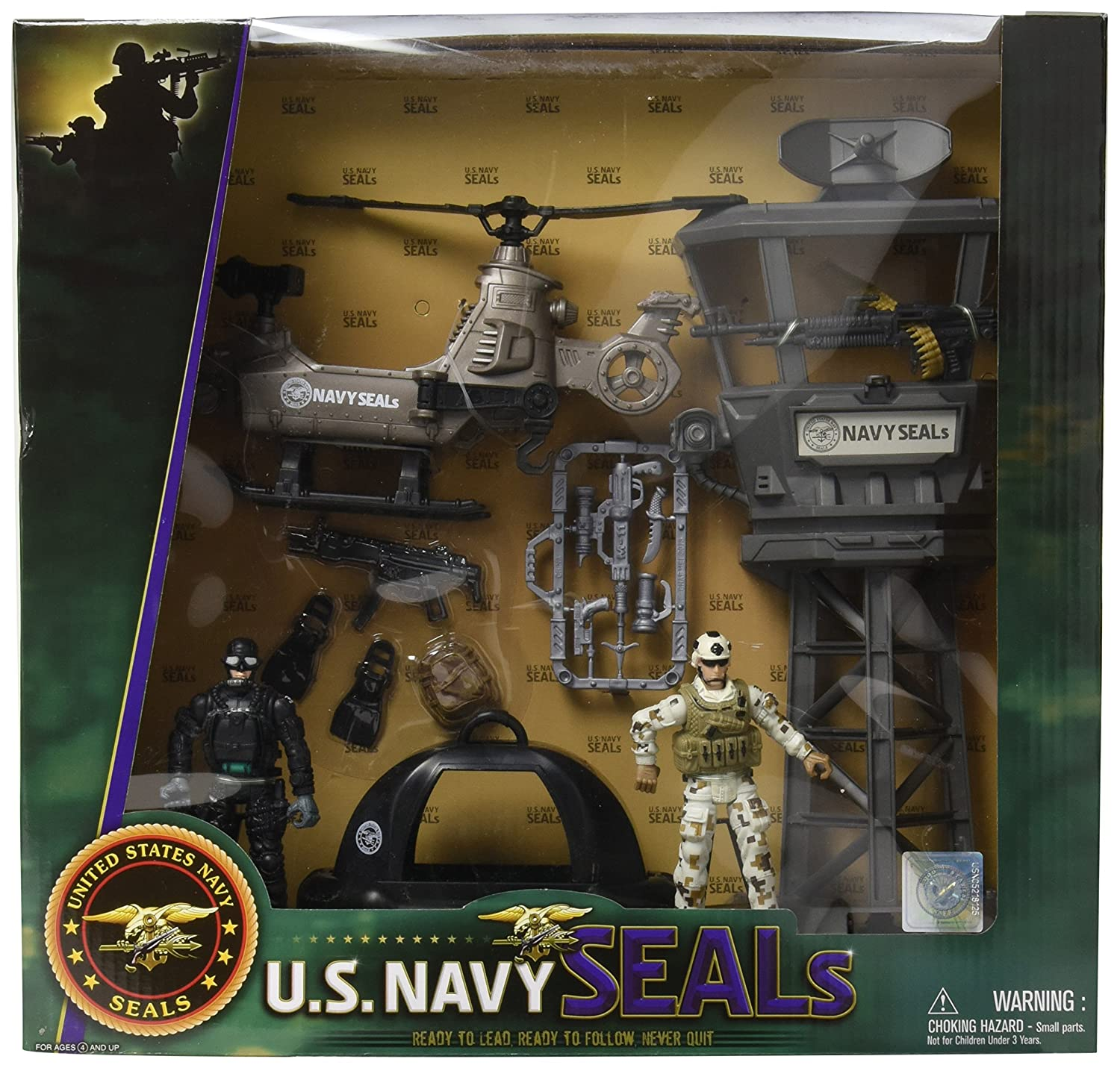 Excite U.S Navy Seals Observation Tower Playset FLAHC 5659