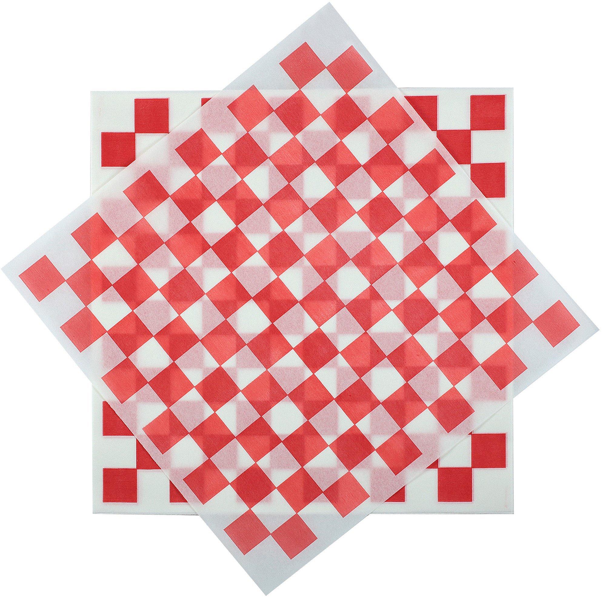 Deli Squares - Wax Paper Sheets