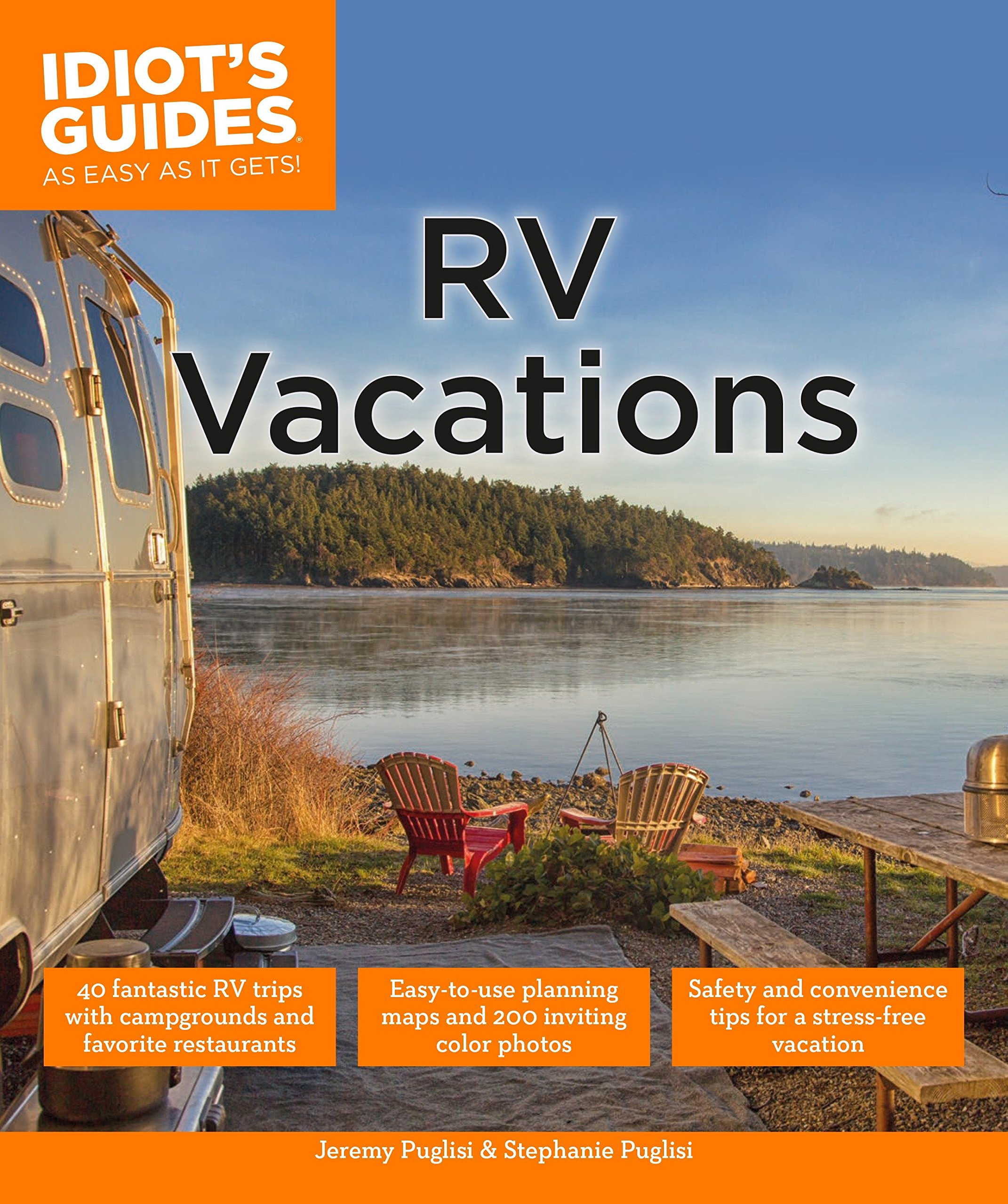 RV Vacations (Idiot's Guides): Jeremy Puglisi, Stephanie Puglisi:  9781615648924: Amazon.com: Books