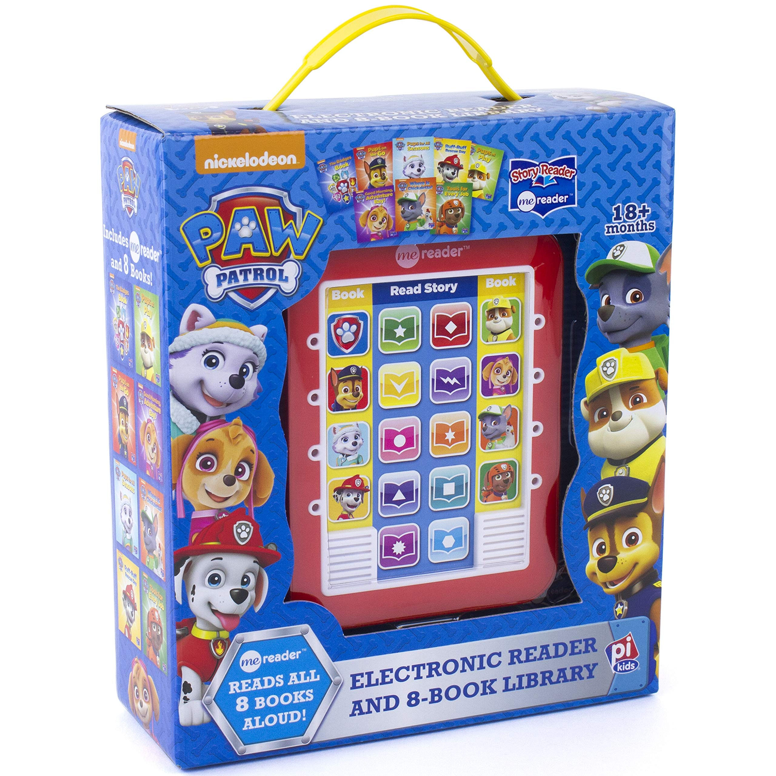 Nickelodeon Paw Patrol Chase, Skye, Marshall, and More! – Me Reader Electronic Reader and 8 Sound Book Library – PI Kids