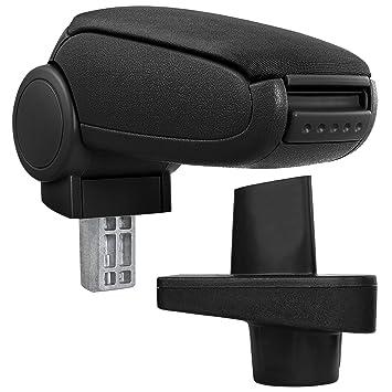 inkl Centre Console textil cover // black Car Armrest Perfekt Fit pro.tec Storage Box