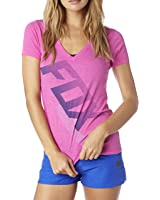 Fox Racing Womens Suspension V-Neck Short-Sleeve Shirt