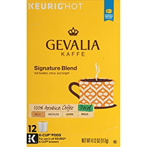 Gevalia Signature Blend Decaf Coffee