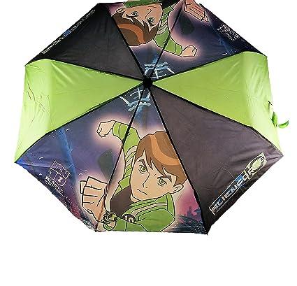 Paraguas Plegable Infantil Ben 10 para niños