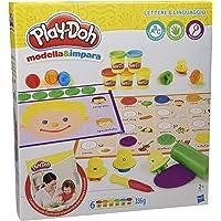Play-Doh - Modella e Impara Lettere e Lingue, B3407103