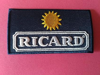 BLUE HAWAI A657 Patch ECUSSON Ricard Jaune 8 6,5 CM