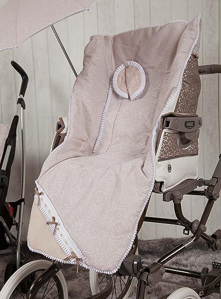 Babyline Bombón - Colchoneta para silla de paseo, color beige