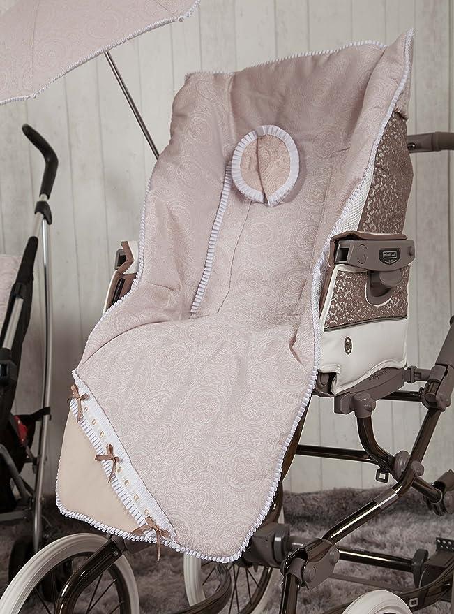 Babyline Bombón - Colchoneta para silla de paseo, color beige: Amazon.es: Bebé