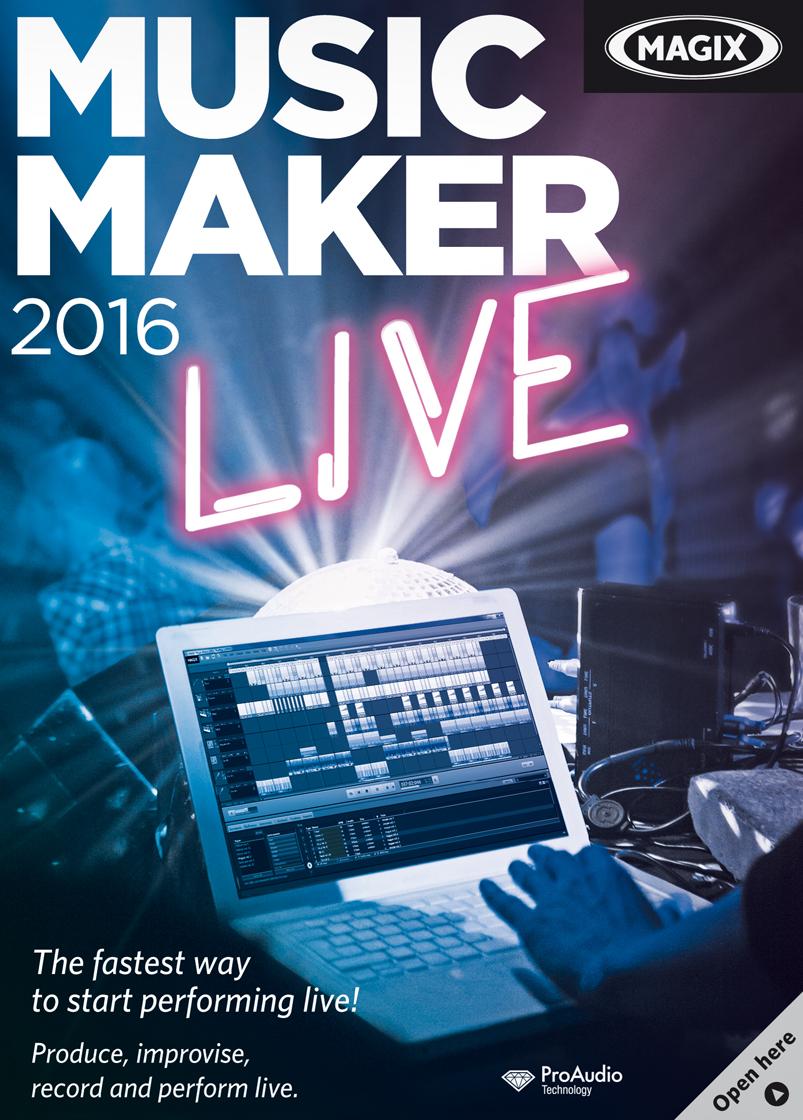 MAGIX Music Maker 2016 Live [Download] by MAGIX