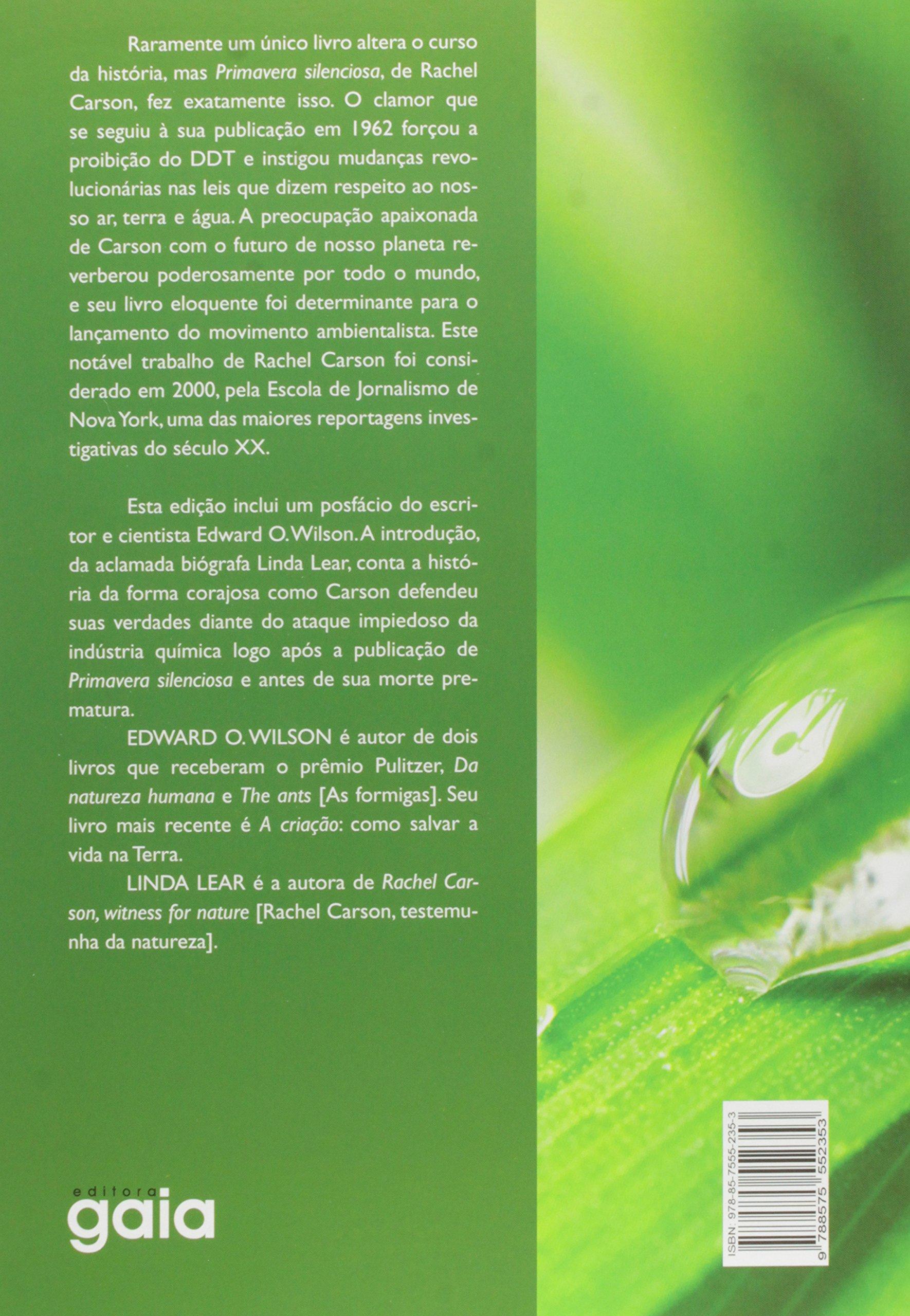 amazon primavera silenciosa português rachel carson social