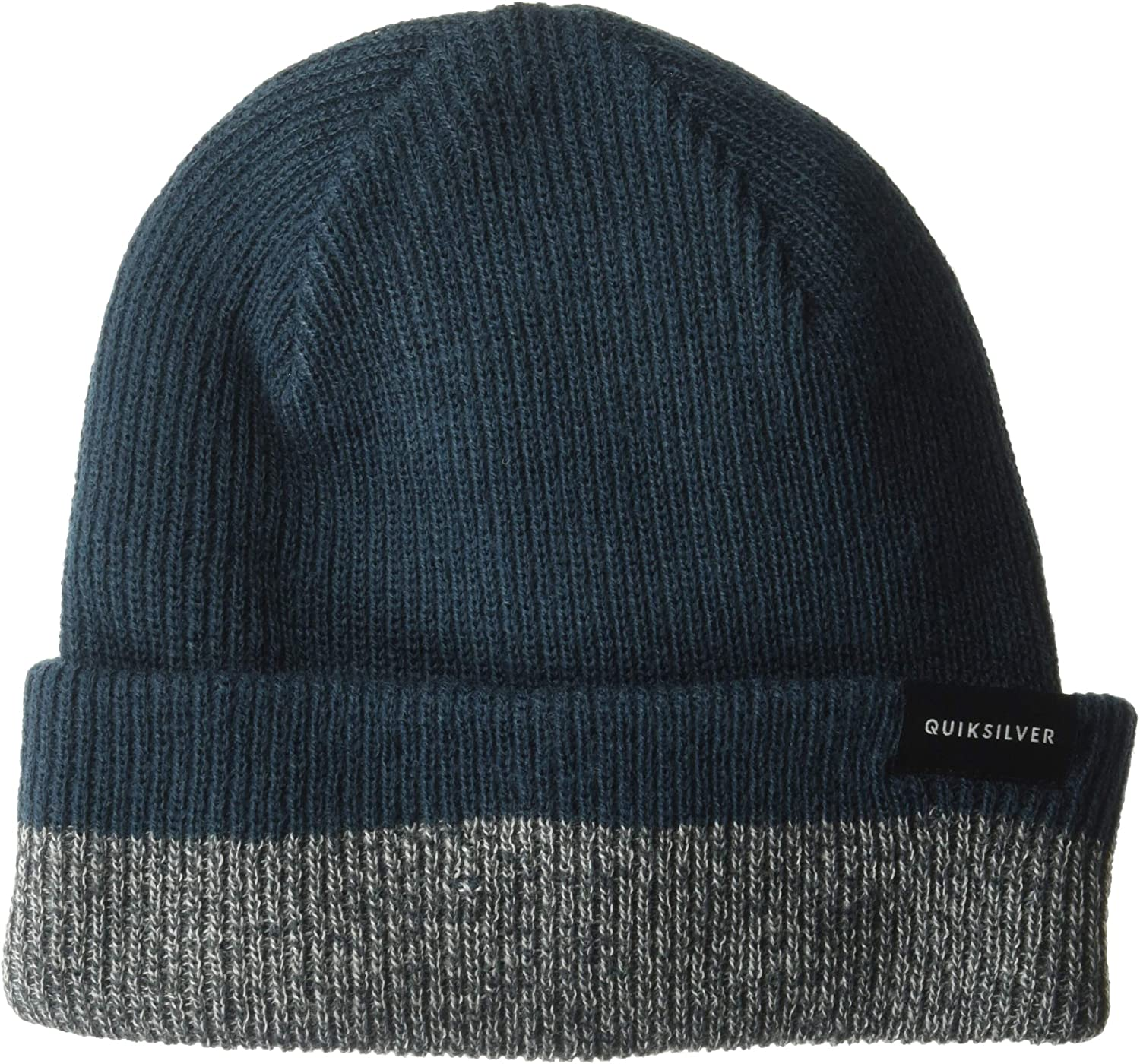 Quiksilver Mens Performed Color Block 2 Beanie