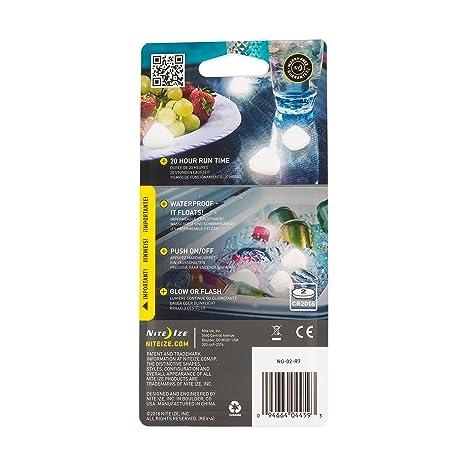 Amazon.com: Nite Ize NiteGem Luz LED flotante impermeable ...