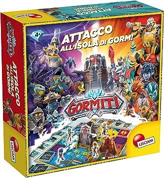 Lisciani Giochi – 77359 Juego para niños Gormiti Isla de Gorm Card Game: Amazon.es: Juguetes y juegos