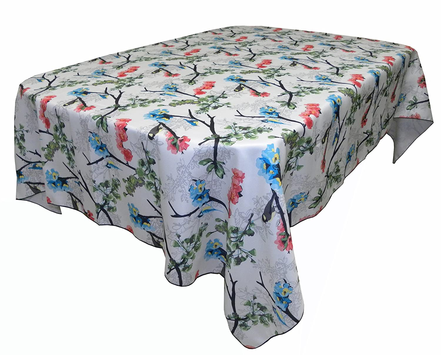 Pioneer Woman Celia Oblong Tablecloth 52 X 70 Inches