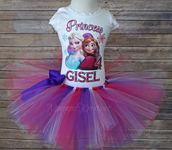 Frozen Elsa Anna Tutu SetFrozen Birthday Outfit