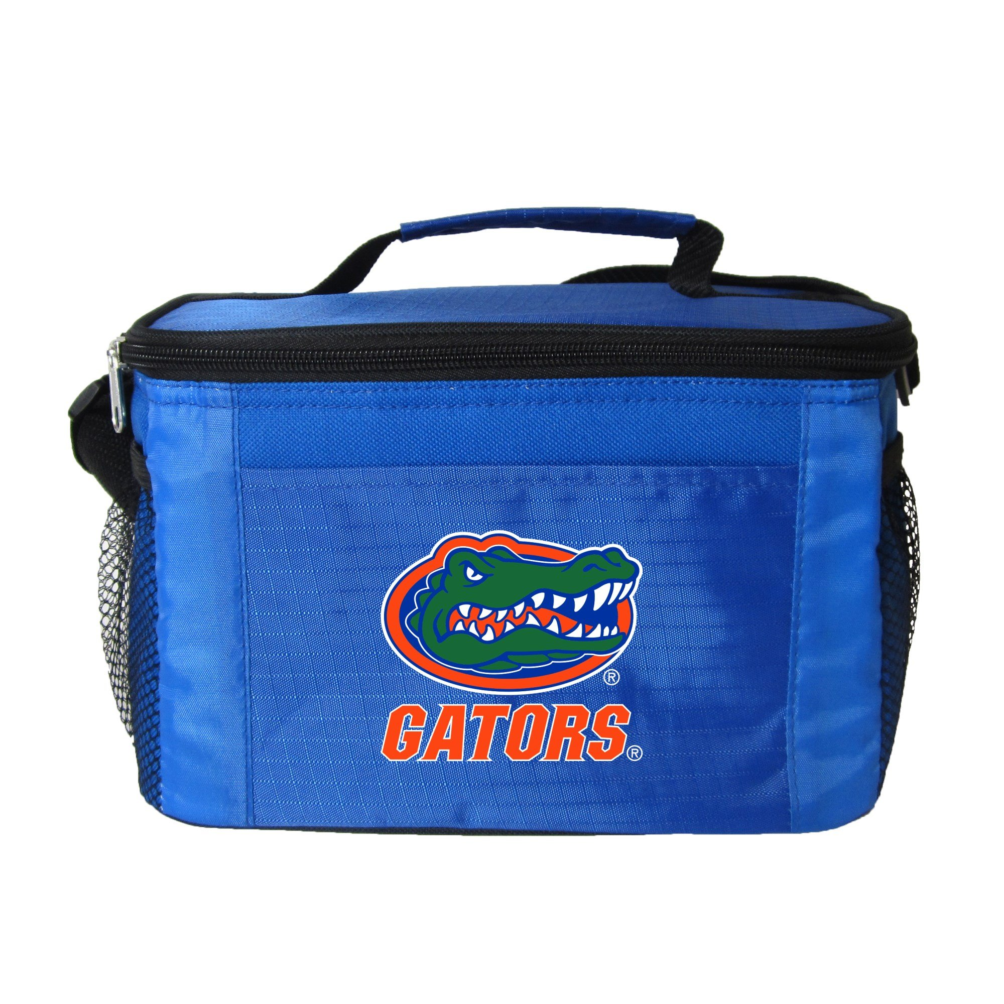 NCAA Florida Gators Insulated Lunch Cooler Bag with Zipper Closure, Royal
