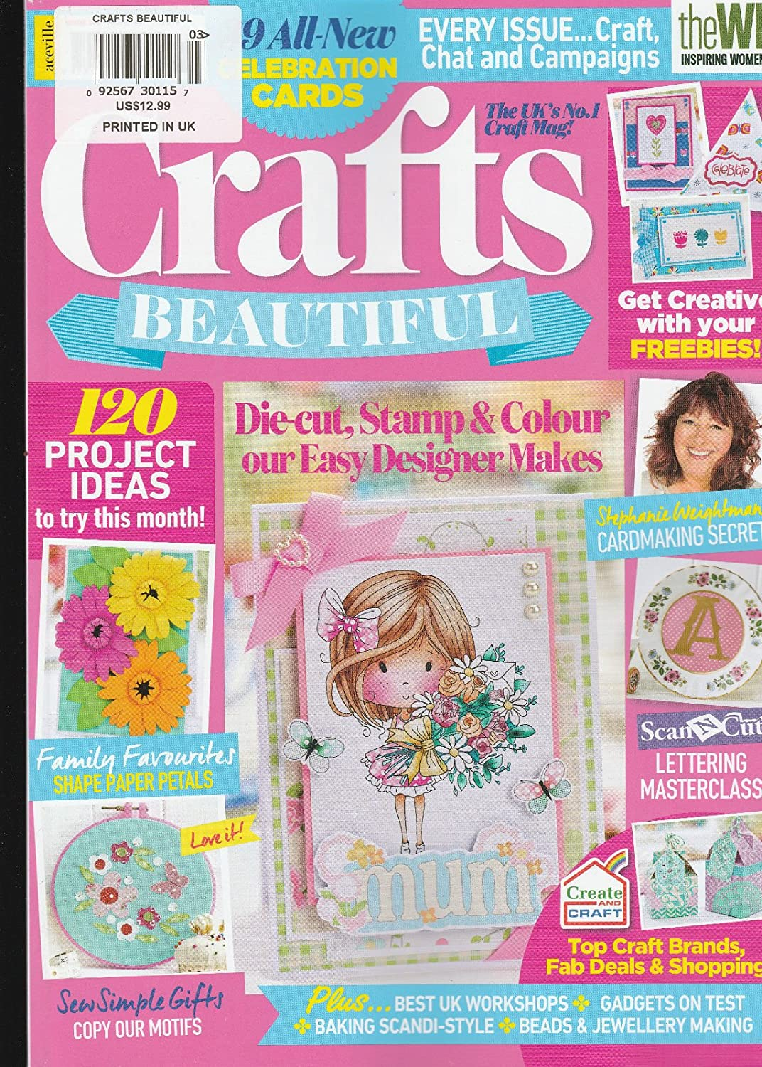Amazon Com Crafts Beautiful Magazine March 2017 Issue