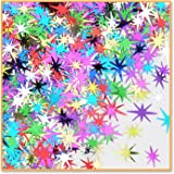 Beistle CN179 1-Pack Decorative Starbursts Confetti for Parties, Multi-Color