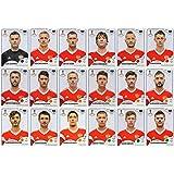 Panini World Cup 2018pegatinas–18jugadores Rusia adhesivos–Equipo de juego–solo # 34–# 51